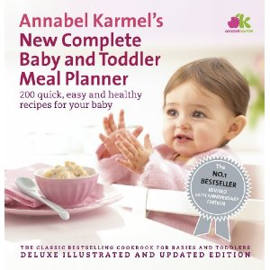 Win a copy of the 'New Complete Baby and Toddler Meal Planner'