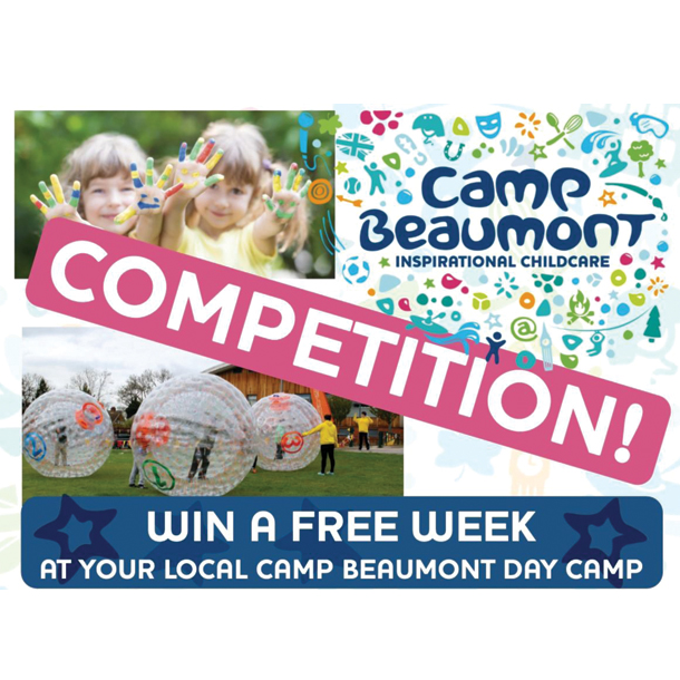 Win a FREE WEEK of day camps at your local Camp Beaumont