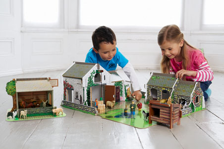 Early Learning Centre Cobblestone Farm Playset