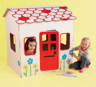 Early Learning Centre Decorate Your Own Play House