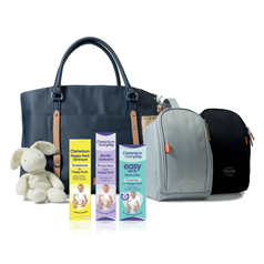 Win a PacaPod changing bag with the new Metanium Everyday Easy Spray Barrier Lotion