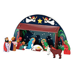 Win a Party Ark Christmas Nativity Scene