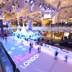 Win tickets for a family day out at Westfield London's ice rink courtesy of American Express