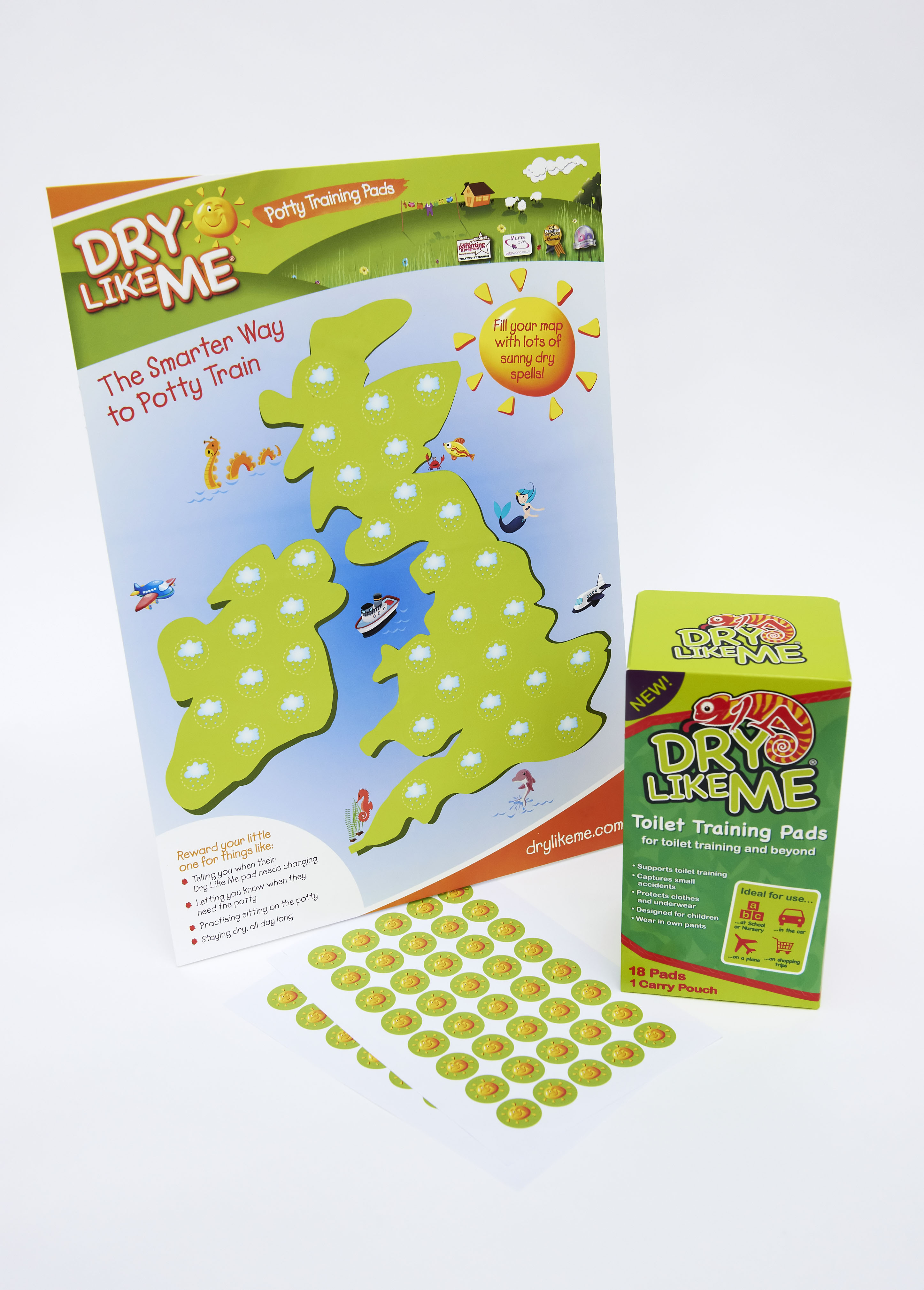 Win a Dry Like Me 'Smarter Way to Potty Train