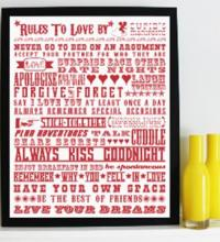 'Rules To Love By', Cupids Manifesto.