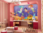 Wow wall canvas