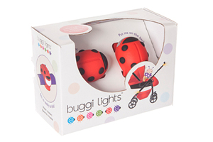 Don't get caught out after dark without your Buggi Lights