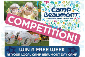 Win a FREE WEEK at your local Camp Beaumont Day Camp