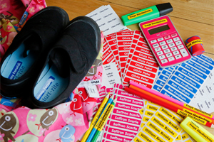Back to School offer with Easy2Name! Personalised labels with 10% off