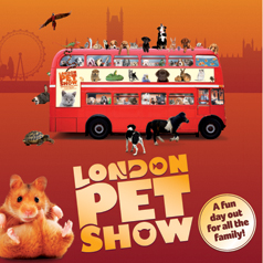 Win a family ticket to the London Pet Show worth £41.00!