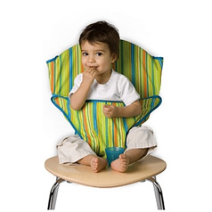 Totseat, travel highchair review