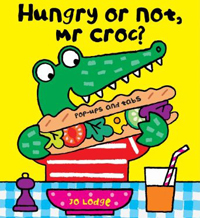 Hungry or not, Mr croc?
