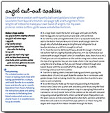 Angel cut out cookie recipe
