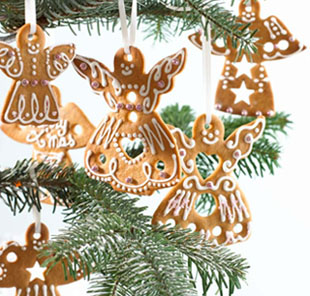 Annabel Karmel's angel cut out cookies