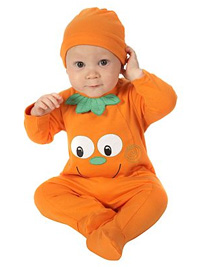 Halloween Asda baby pumpkin outfit  sc 1 st  The Baby Directory & Halloween for under-3s - Parties - Toddler - The Baby Directory